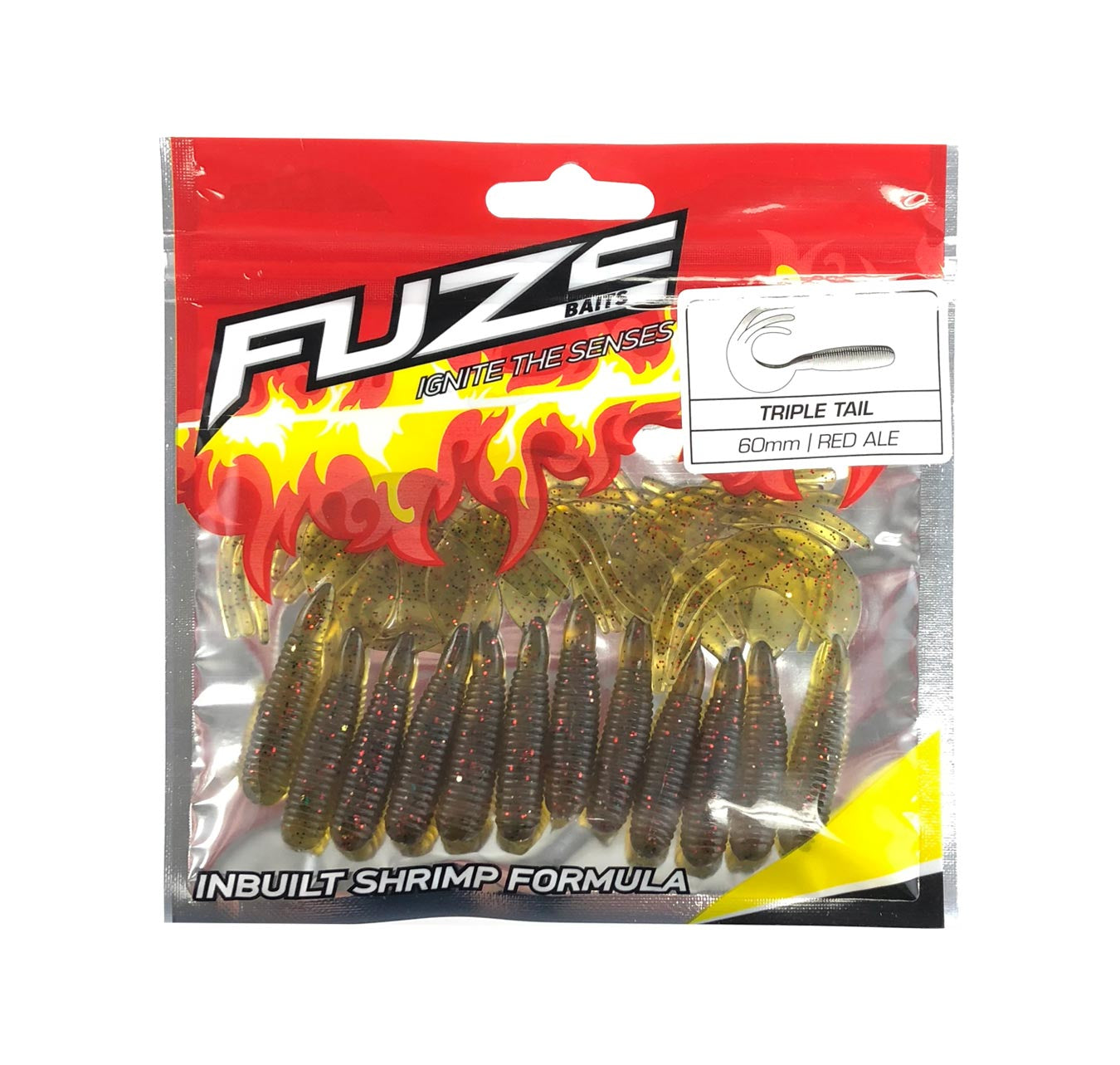 Fuze Bream Soft Plastics Pack