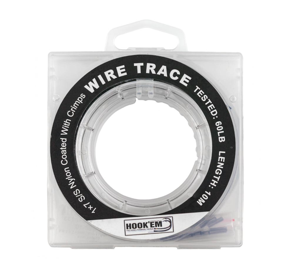 Hook'em Stainless Steel 7 Strand Wire Trace