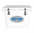 Icey Tek 40L Hard Cooler White