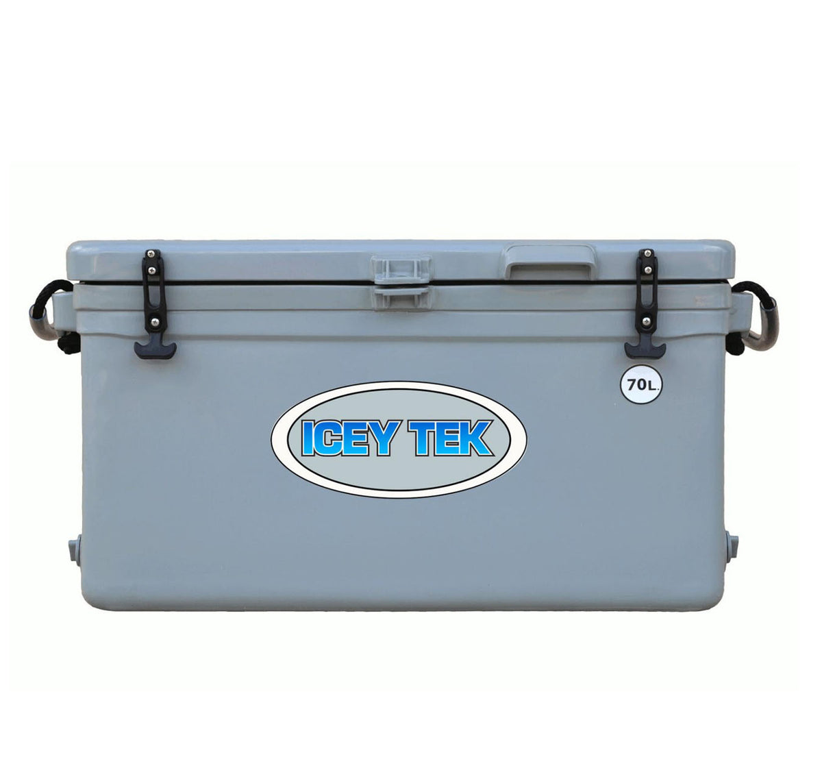 Icey Tek 70L Hard Cooler Grey