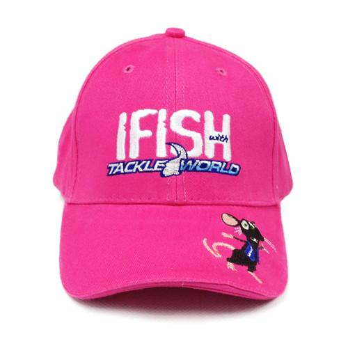 Ifish with TW Tackle Rat Cap Pink
