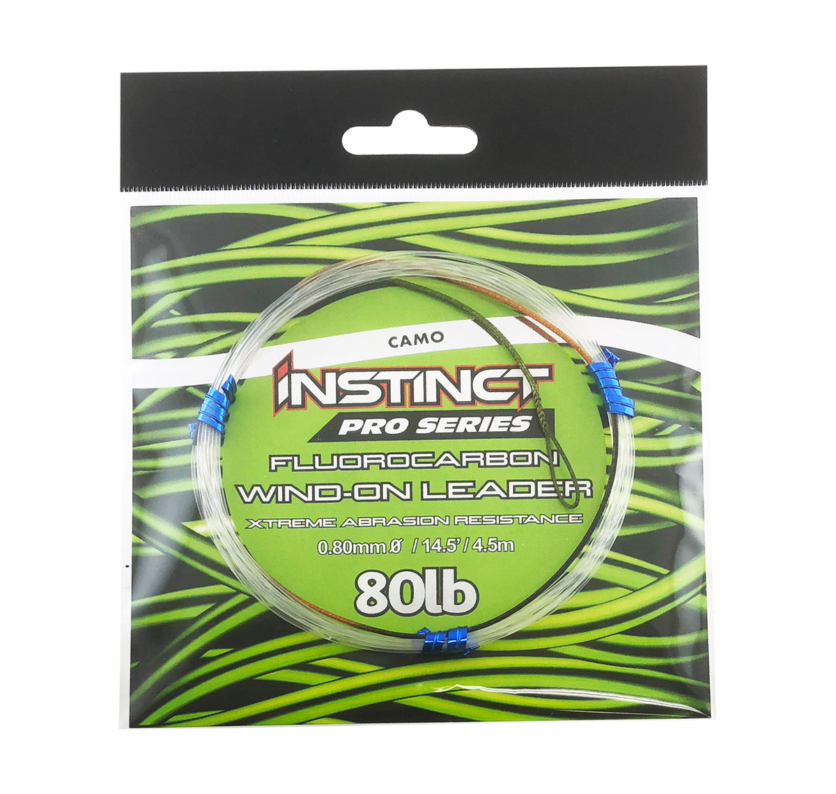 Instinct Pro Series Fluorocarbon Wind-On Leader