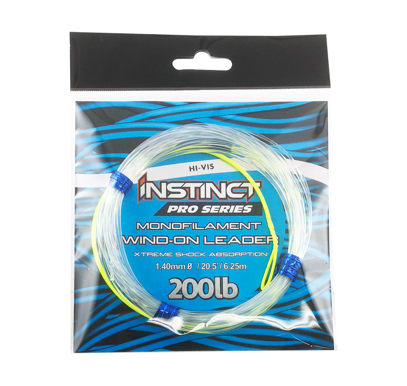 Instinct Pro Series Monofilament Wind-On Leader