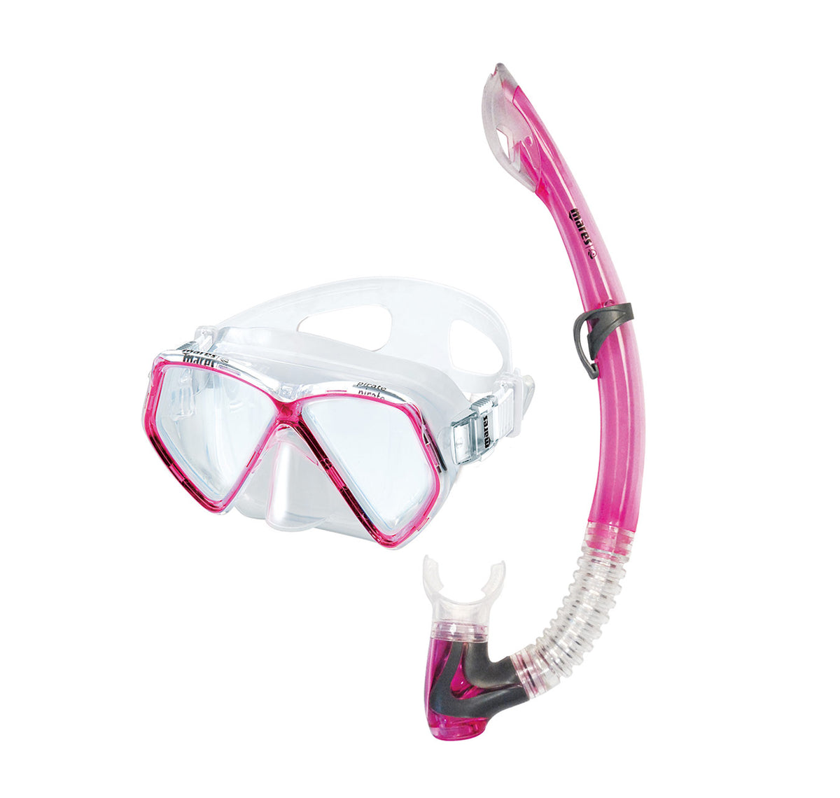 Mares Pirate Junior Mask and Snorkel Pink
