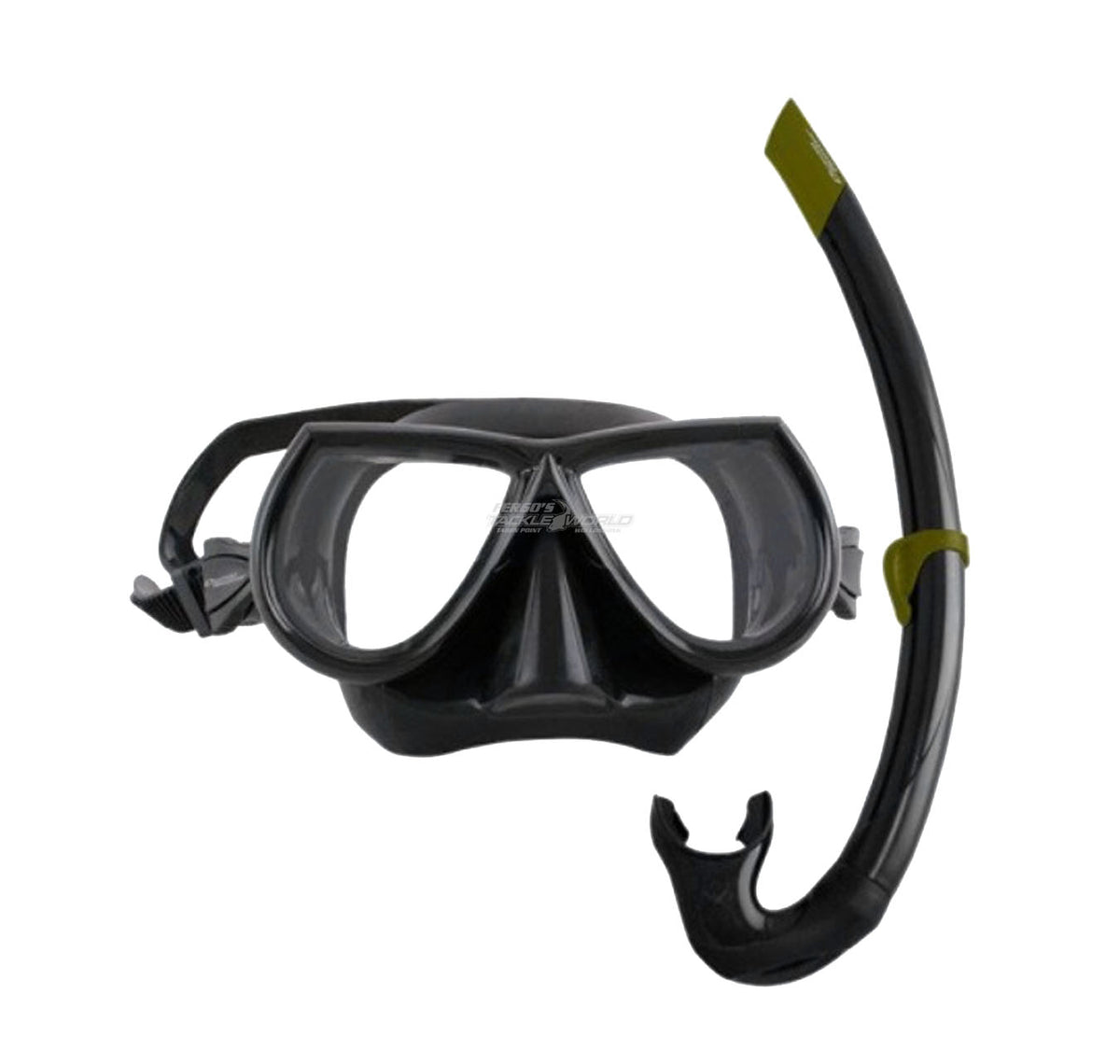 Ocean Hunter Predator mask & snorkel Black