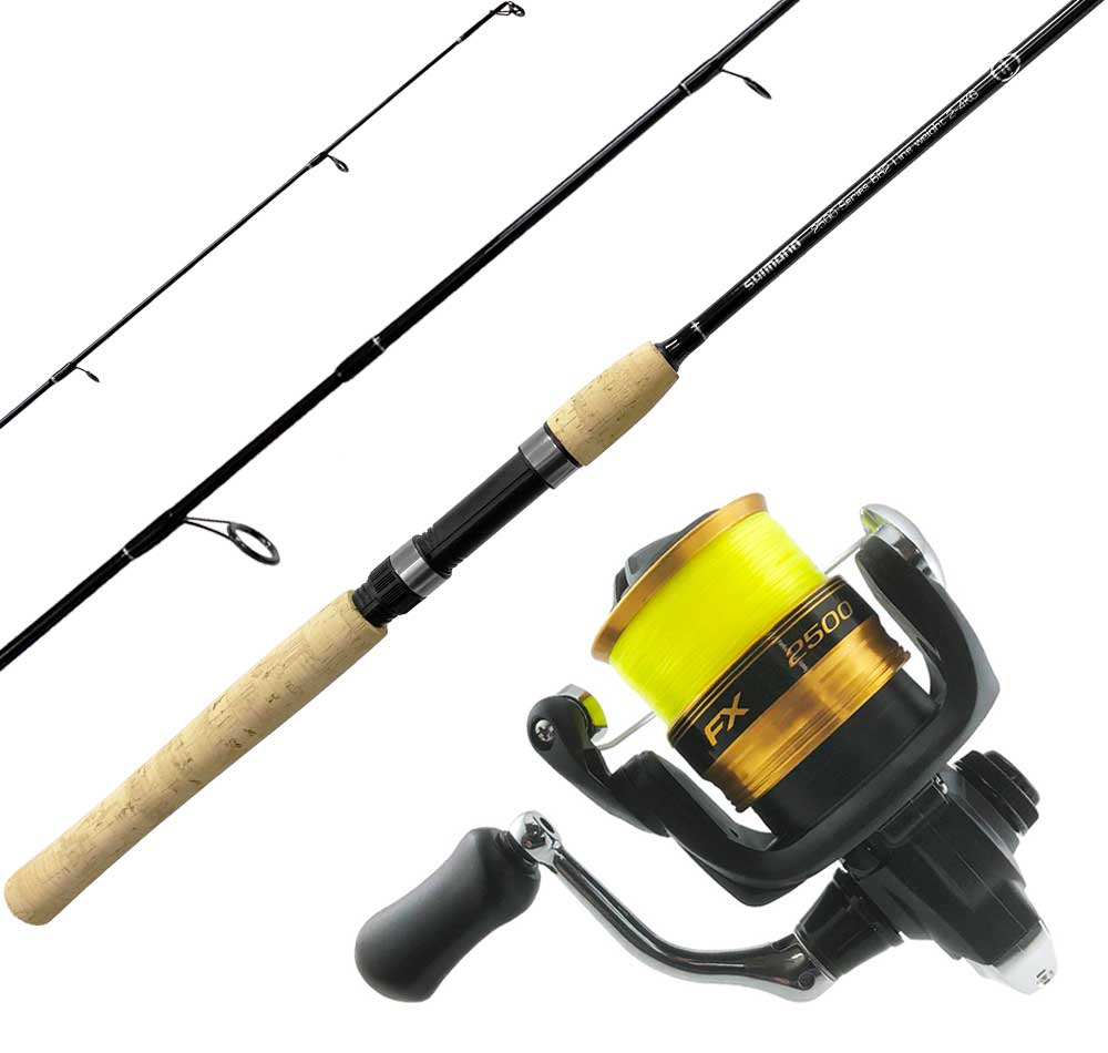 Shimano 2500 Series Graphite Light Spin Combo