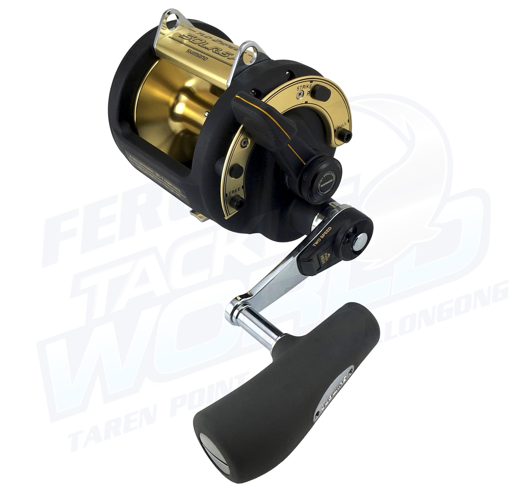 Shimano TLD 2 Speed Reel