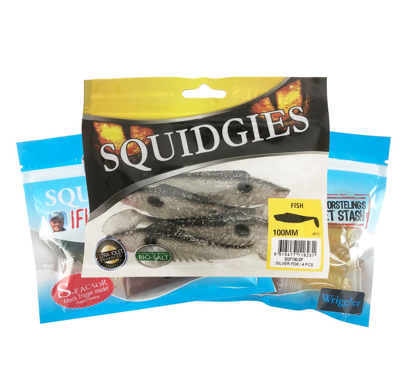 Squidgies Jewfish Soft Plastics Pack