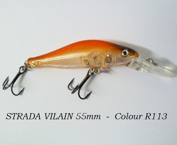 Strada Villain 4g 55mm Lures