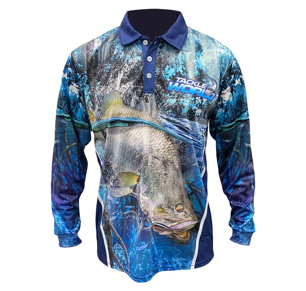 Tackle World Barra Fishing Shirt