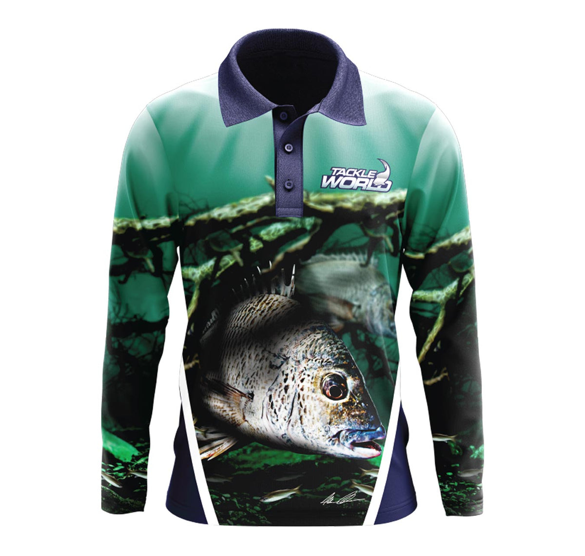 Tackle World Bream Kids Fishing Shirts