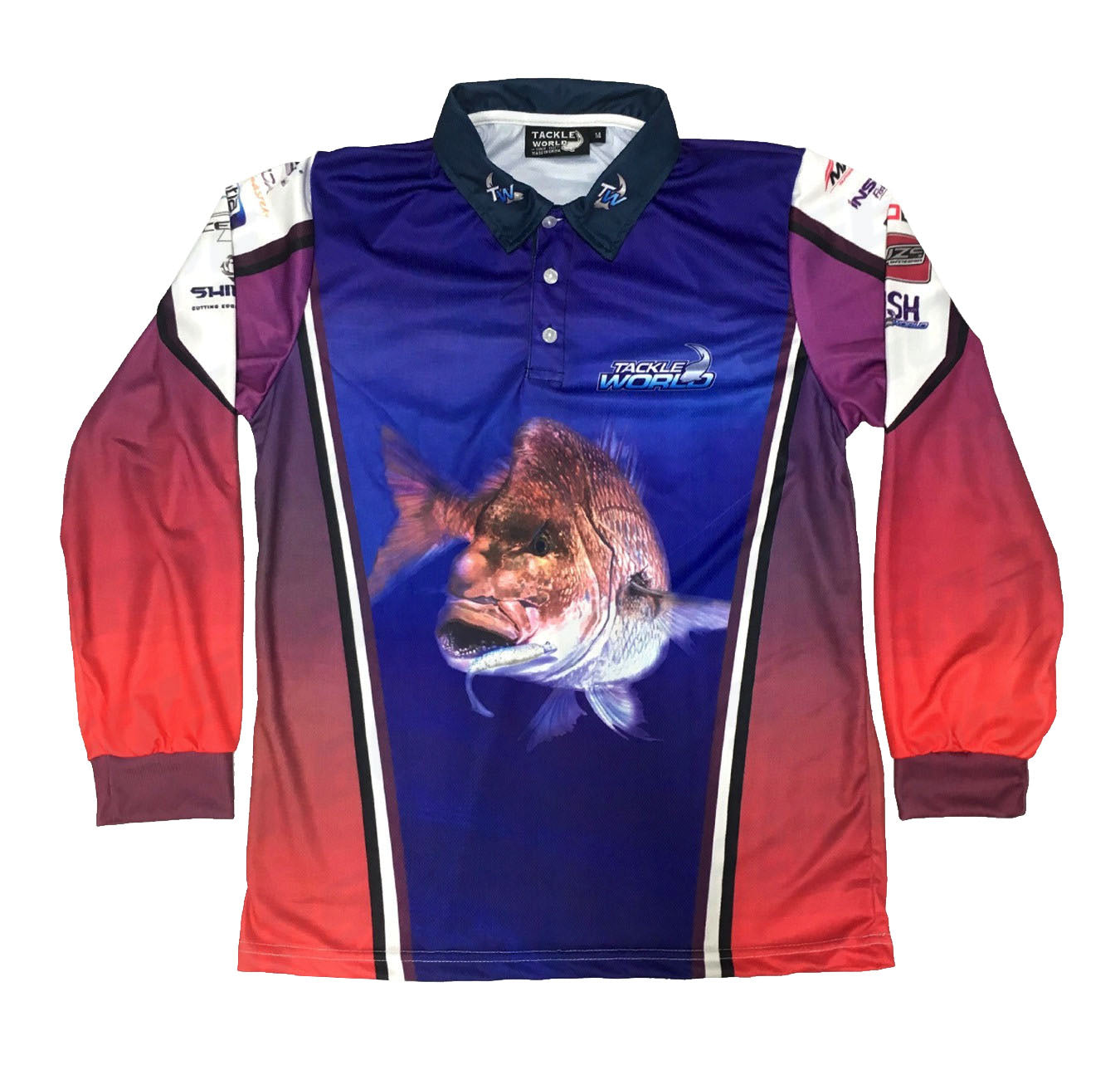 Tackle World Snapper Adult Fishing Shirts