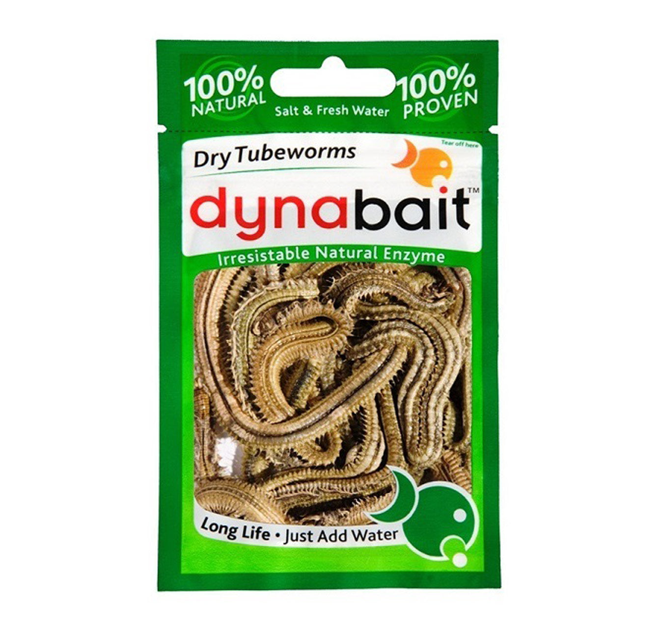 Dynabait Dry Tube Worms