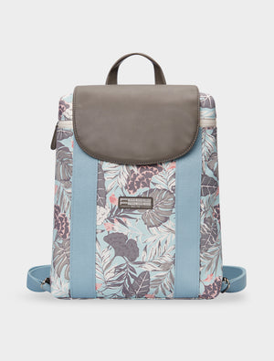 Mini Backpack Tropical Organic Teal