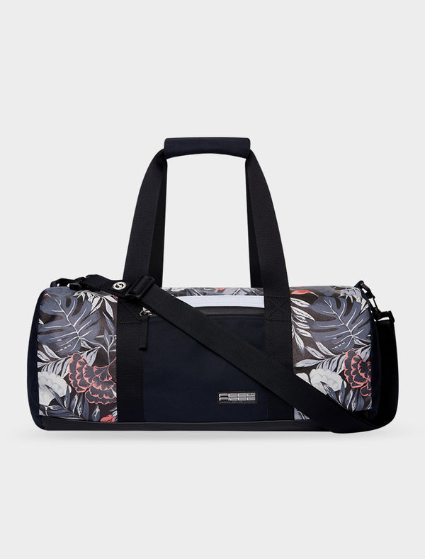 Duffel Tropical  Midnight Black
