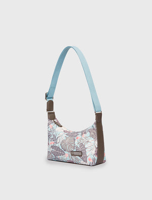 Mini Handbag Tropical Organic Teal