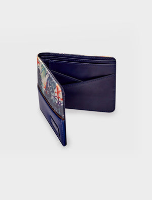 Short Wallet Tropical Botanic Green