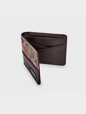 Short Wallet Tropical Harmony Mint
