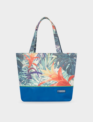 Tote Tropical Botanic Green