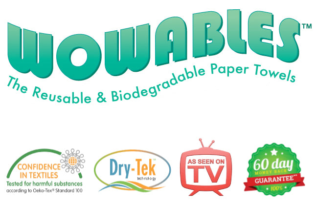 Wowables®-The Reusable Paper Towels