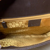 Authentic Gucci leather Workbag w/ jaguar buckle - ReLuxe.