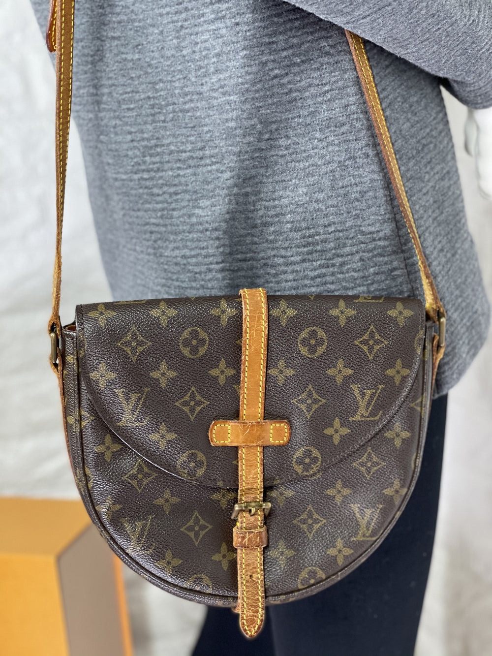 Vintage Monogram Chantilly GM Crossbody
