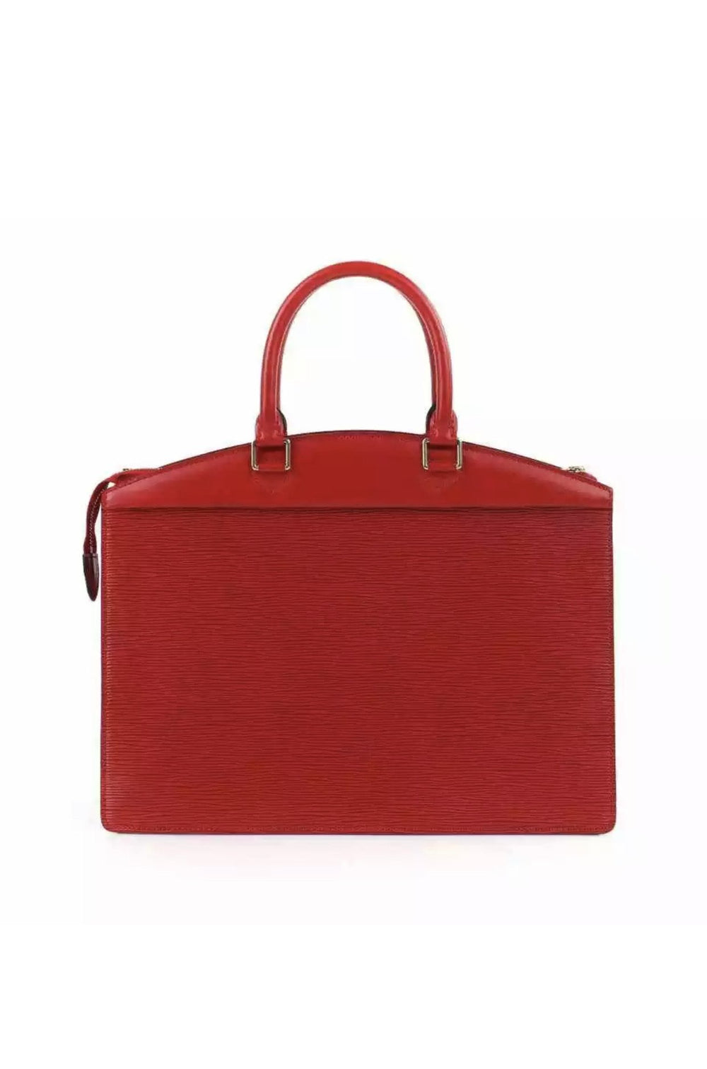 Vintage Red Epi Riviera Bag
