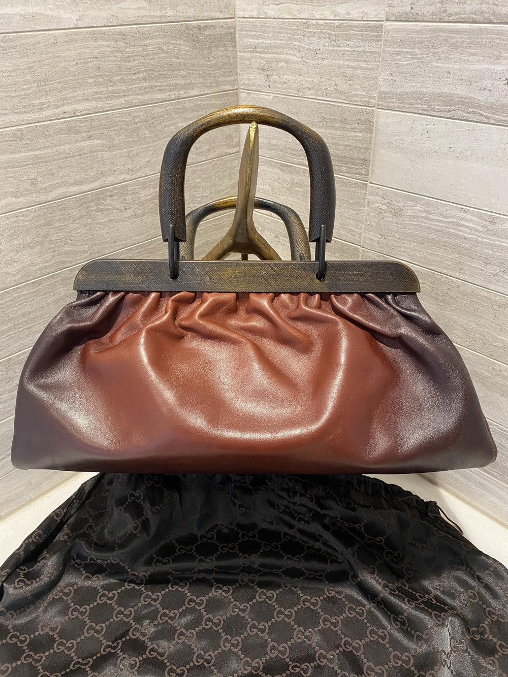 Gucci Tom Ford Brown Doctors Bag