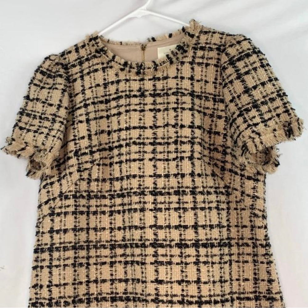 Kate Spade Heart It Bi-color Tweed Dress NWT Size 14