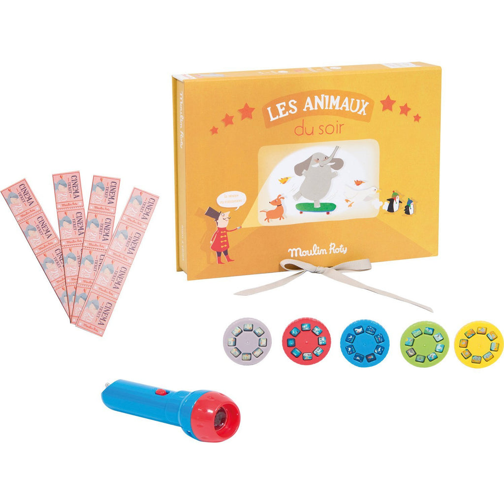 ANIMAL CINEMA BOX - Les Histoires du Soir at $39.6 from Vila Kids