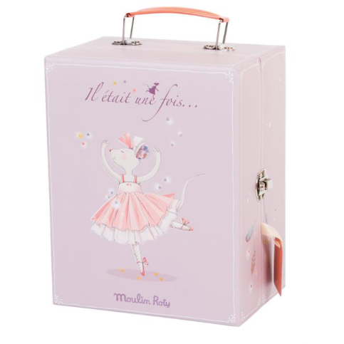 Ballerina Mouse Valise at $78 from Vila Kids