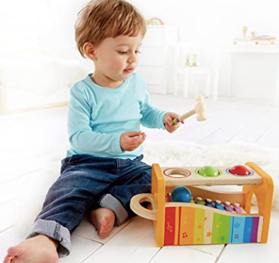 POUND AND TAP BENCH at $36.8 from Vila Kids