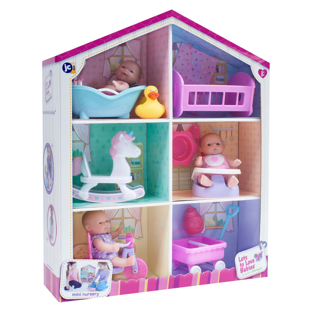 Doll House Mini Nursery at $59.9 from Vila Kids