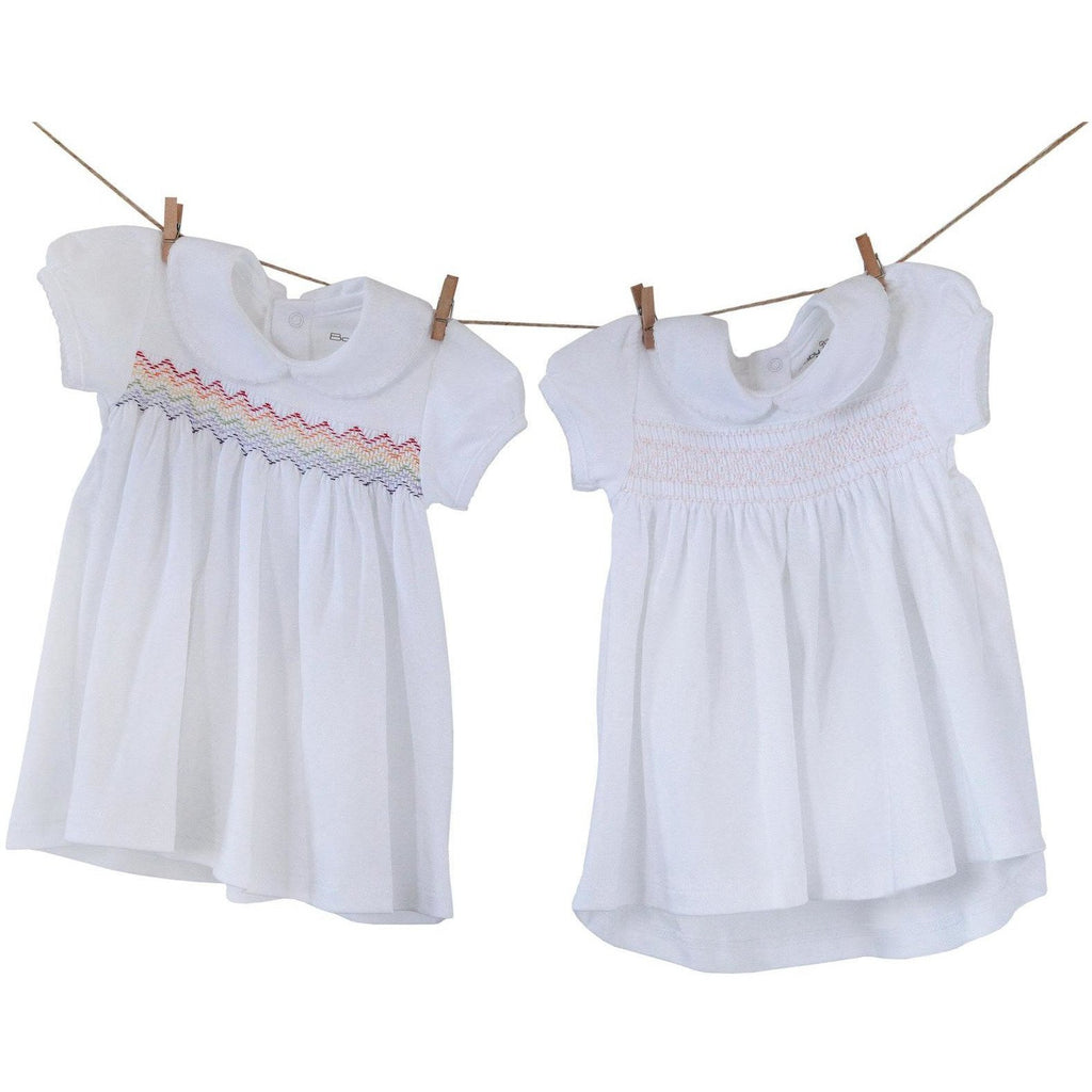 Dress White Smock at $70.9 from Vila Kids