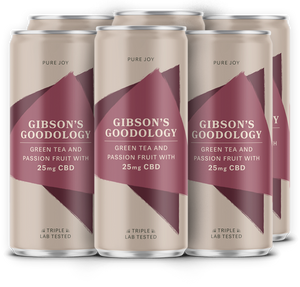 Green Tea and Passion Fruit 24 Pack - Gibson's Goodology