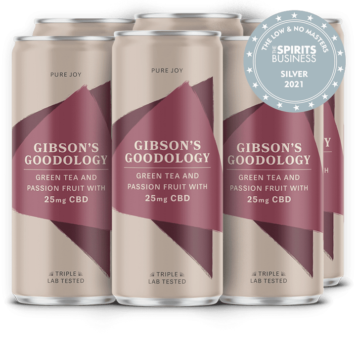 Green Tea and Passion Fruit 6 Pack - Gibson's Goodology