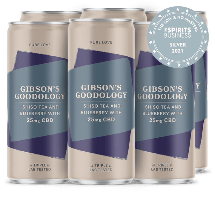 Shiso Tea and Blueberry 6 Pack - Gibson's Goodology