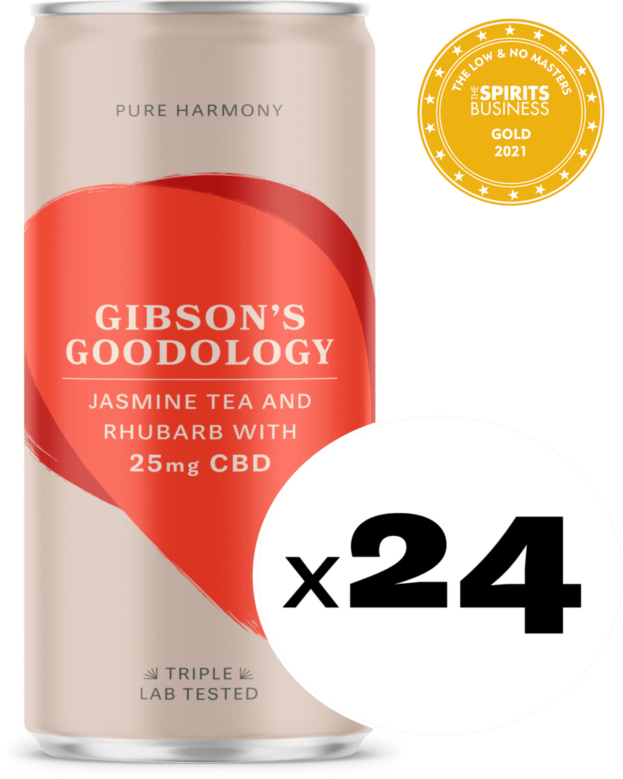 Jasmine Tea and Rhubarb 24 Pack - Gibson's Goodology