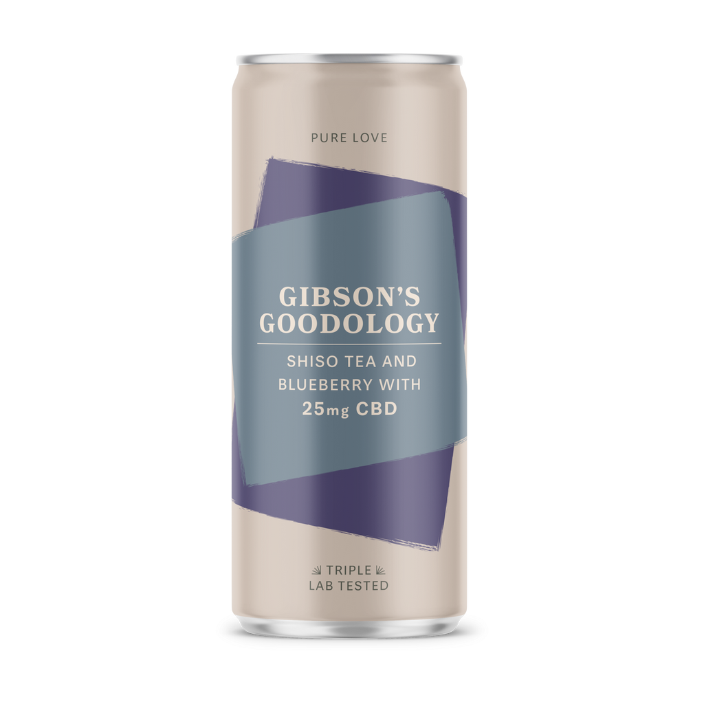 Shiso Tea and Blueberry - Gibson's Goodology