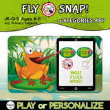 Reusable CATEGORIES Card Game for Personalized Learning