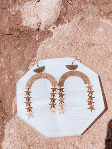 Constelation Star Arch Earrings