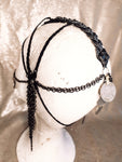 Warrior dark silver headdress