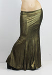 Gold Metallic Vintage Mermaid Skirt