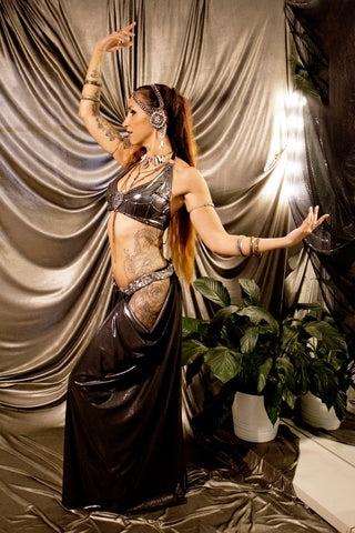 Tribal fusion Matahari costume - Gatsby dress - CUSTOM costume
