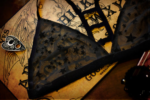 Witchy Stars Bralette