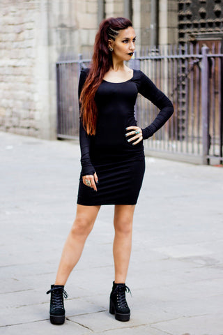 VBasic Black Dress