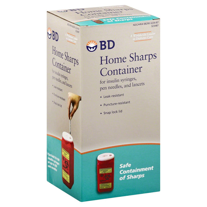 BD® Home Sharps Container