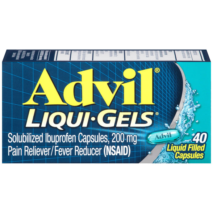 Advil® Liqui-Gels® Ibuprofen Liquid Capsules 40ct.