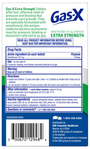 Gas-X® Extra Strength Peppermint Creme Chewable Tablets 18ct.