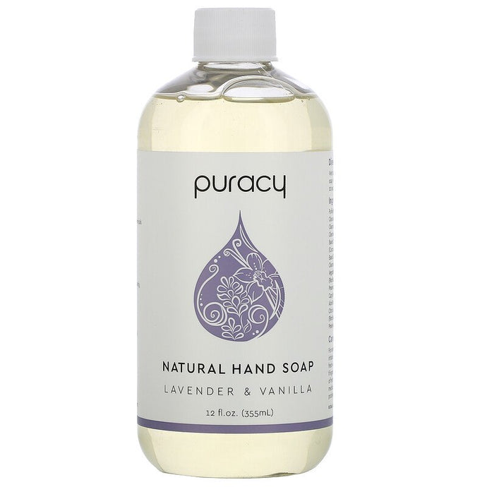 Puracy® Natural Lavender & Vanilla Hand Soap 12fl. oz.